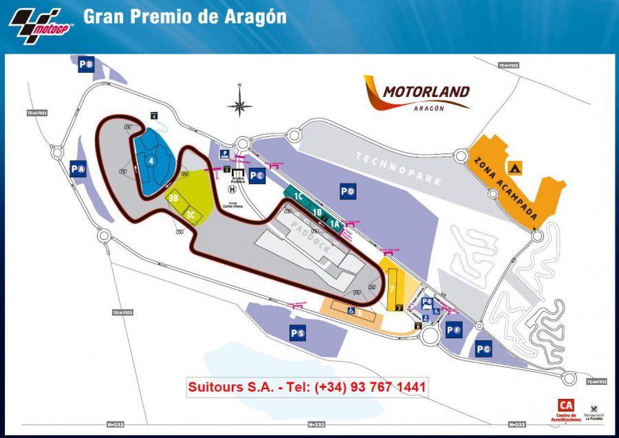 Aragon Rennstrecke